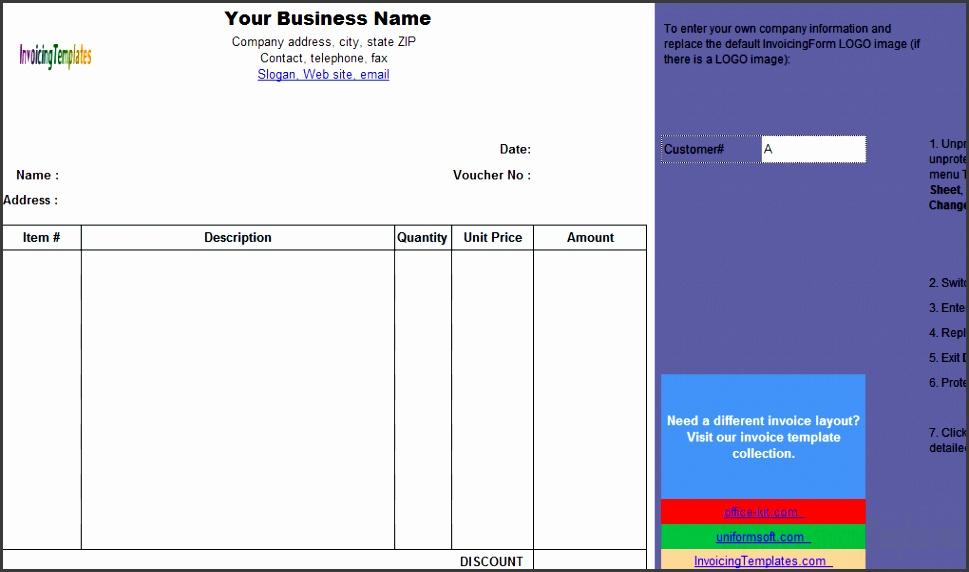 Cash Payment Voucher Template freeware edition