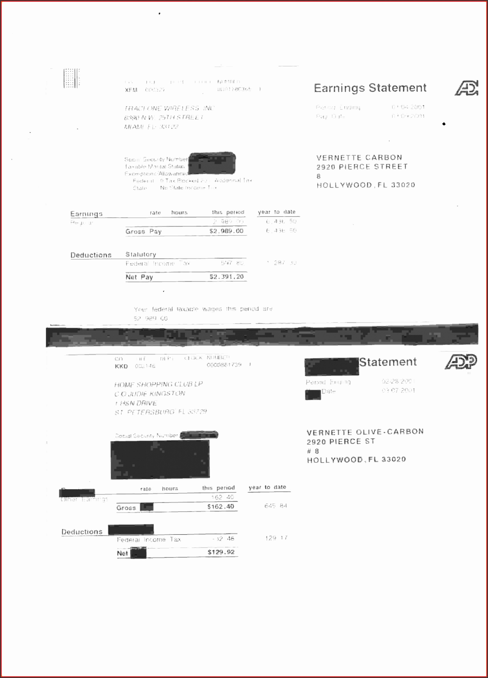 adp pay stubs template 0021