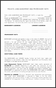 Free Personal Loan Agreement Template Microsoft Word South Africa Simple Form Australia Pdf Download