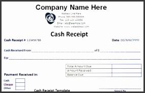 Download Petty Cash Receipt Template