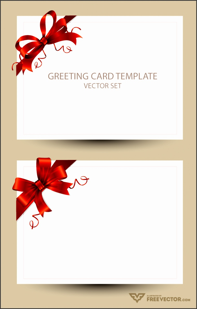 Download Greeting Card Template Set