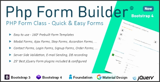 PHP Form Builder CodeCanyon Item for Sale