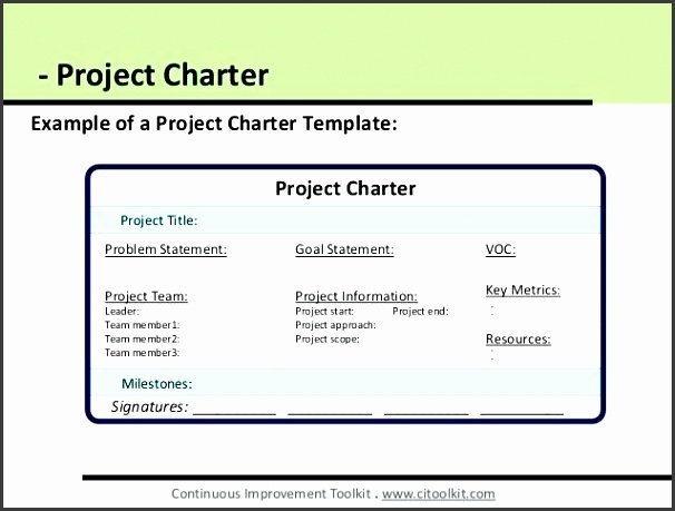 project charter templates project charter dmaic project charter template excel