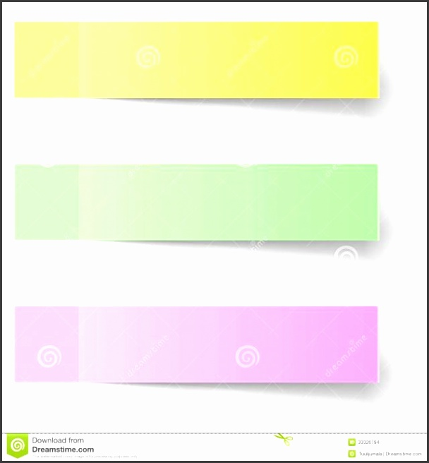 18 Sample sticky note Sample Sticky Note Template pliant Impression Color Notes Shadow with medium image
