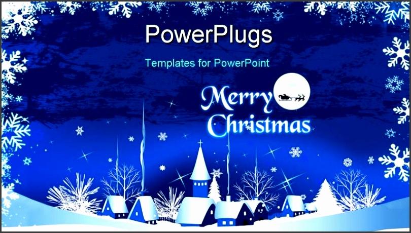 Christmas Card Powerpoint Template Custom Card Template Christmas in Christmas Card Templates In Powerpoint