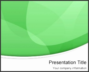Green Modern PowerPoint Template is a free green PowerPoint template with curves and lighting effects that