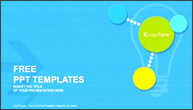 Colorful modern circles PowerPoint Templates 1