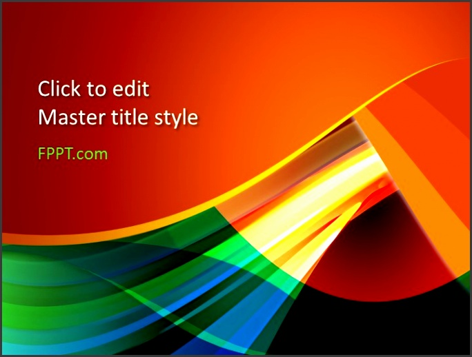 Free Color PowerPoint Template · Download Abstract