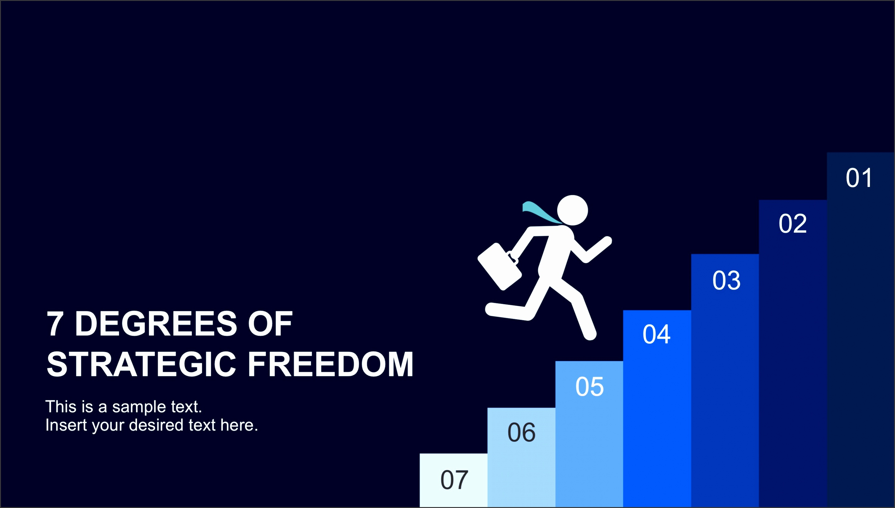 7310 01 7degrees of strategic freedom powerpoint template 16x9 1