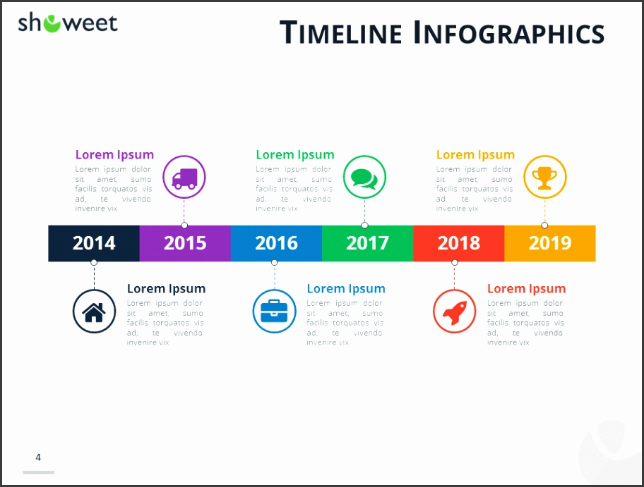 Timeline Infographics for PowerPoint