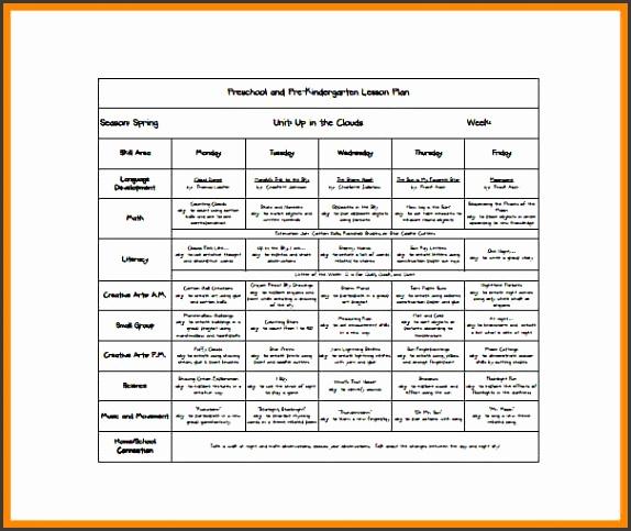 example lesson plan example lesson plan Free Kindergarten Preschool Lesson Plan PDF Download