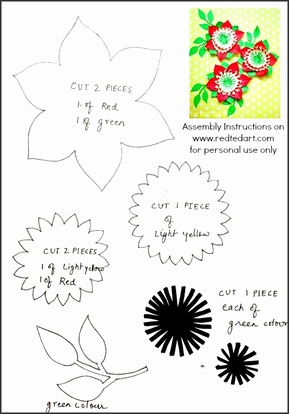 DOWNLOAD YOUR FLOWER TEMPLATE
