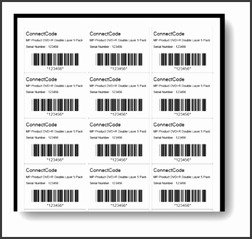 Preview and Print Label