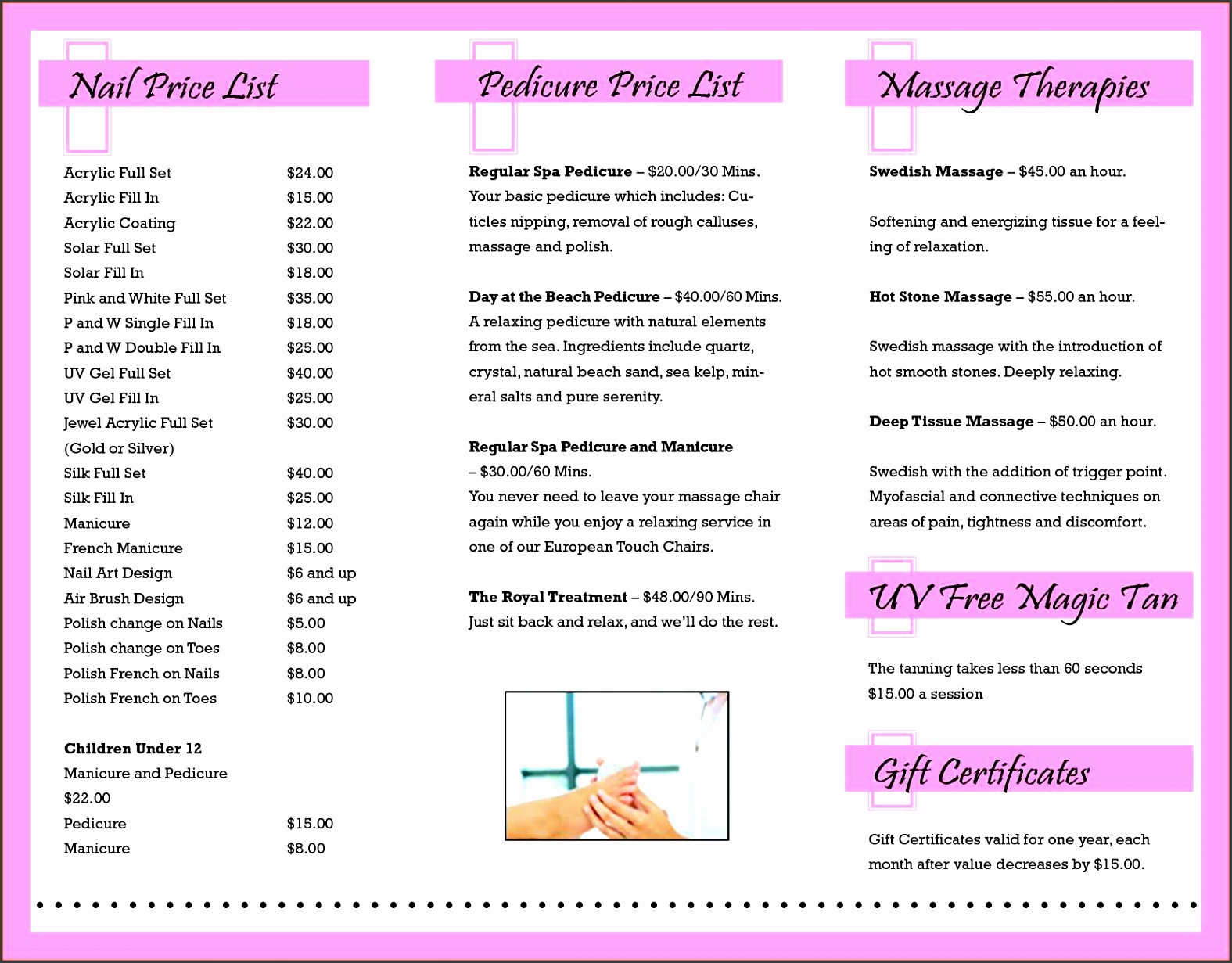 graphy Price List Template Free Download And Price List Template Google Docs
