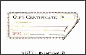 Art Print Gift Certificate