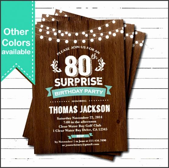 Free Printable Surprise Party Invitation Templates Birthday Invitation Template 34 Free Word Pdf Psd Ai Format Templates