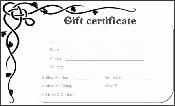 Corner border t certificate template