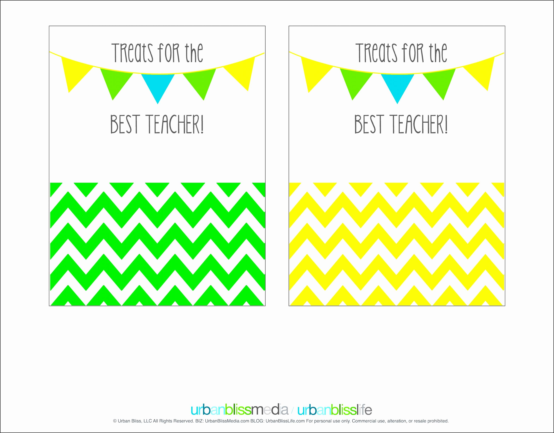 Printable Teacher Appreciation Gift Card Holder