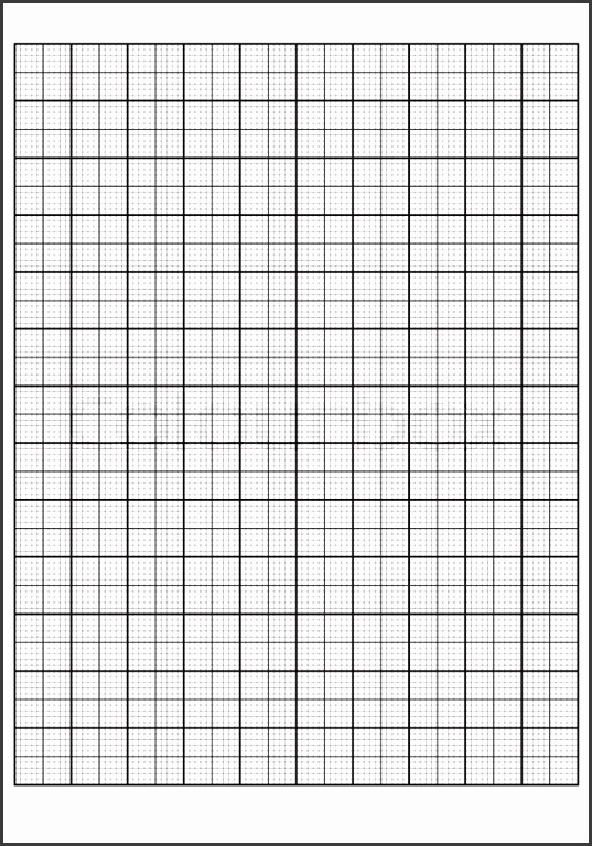 Engineering graph paper Printable Graph Paper vector illustration Stock Vector