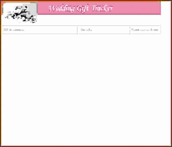 Guest List Template Wedding Guest List Template Wedding Gift List Template