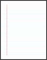 Printable Lined Paper College