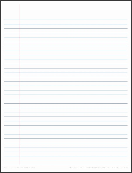 Printable Graph Paper Templates For Word regarding Lined Paper Template Word