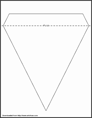 Printable Bunting Template