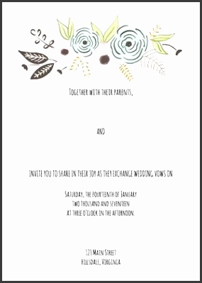 Free Wedding Invitation Templates from Cards and Pockets