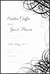 Wedding Invitation Templates Printable Wedding Invitation Templates With A Interesting Invitations Specially Designed For Your Wedding