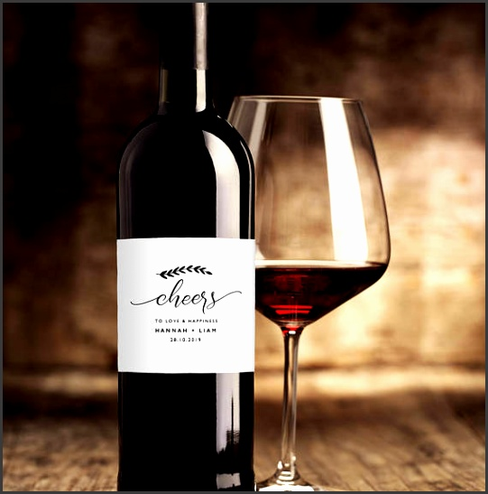 Wedding Wine Label Template Printable Wine Labels DIY Wine Bottle Labels Wedding Wine Labels Editable Wine Labels For Weddings KPC08 209
