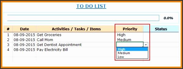 10 to do list excel cna resumed to do list excelexcel to do list template priorityg