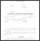 private child support agreement template child support agreement template 6 free word pdf documents