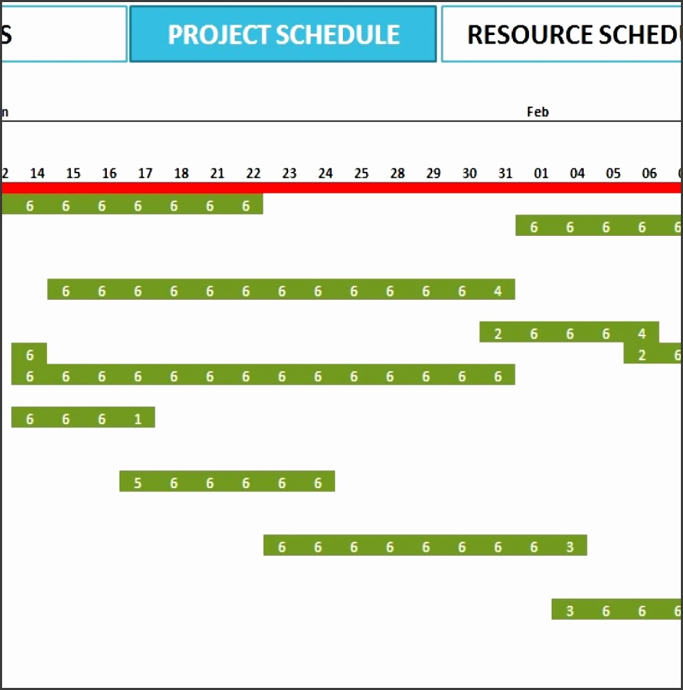 2016 Excel Calendar For Project Plan