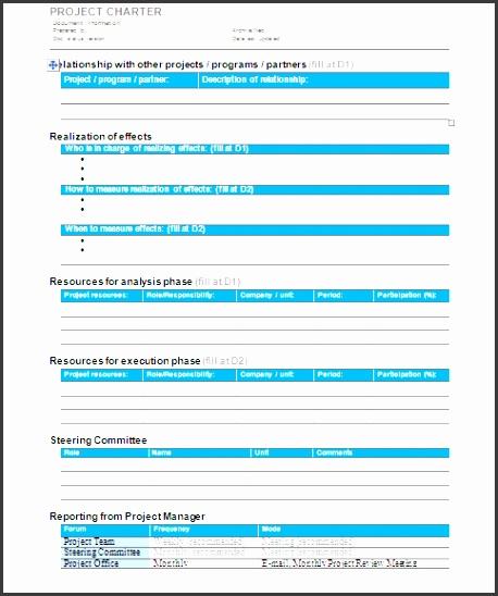 Project Charter Template Sample 1 sample 2 iT5CiO4l