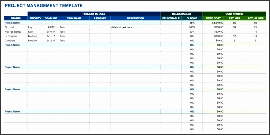 A spreadsheet tracking template is a simple tool that can help streamline your project management process especially if you re dealing with a large project