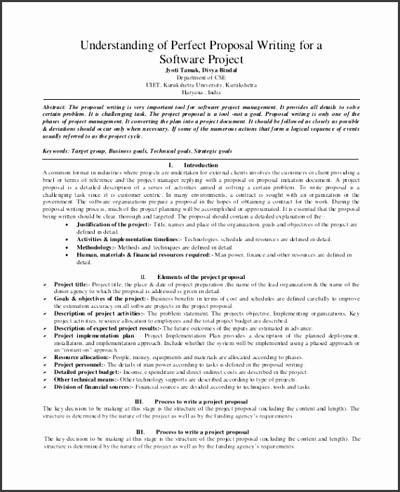 Software Business Proposal Template Sample Project Proposal 7 Documents In Word Pdf