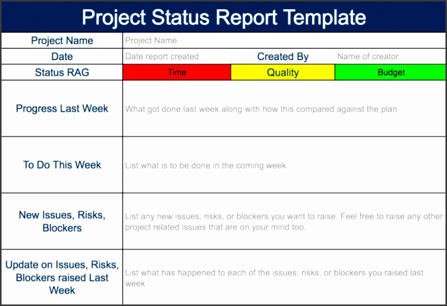 steering mittee status report template project status report template expert program management free