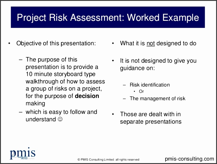 project risk assessment worked example conversion gate01 thumbnail 4