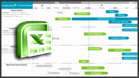 product roadmap template excel roadmap template excel AQWd