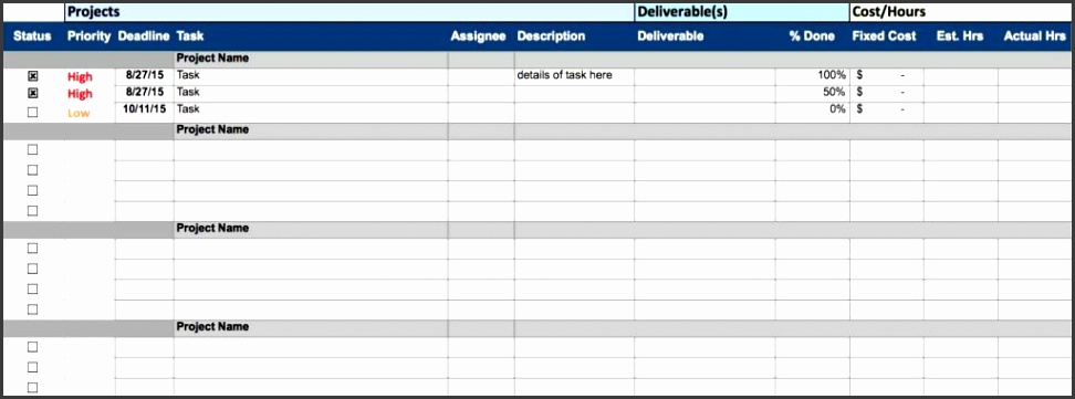 Project Management Spreadsheet Templates And Project Management Excel Templates Gantt