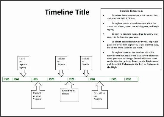 template for timeline sample timeline 9 documents in word excel project timeline template excel 2010