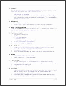 project proposal format project proposal template