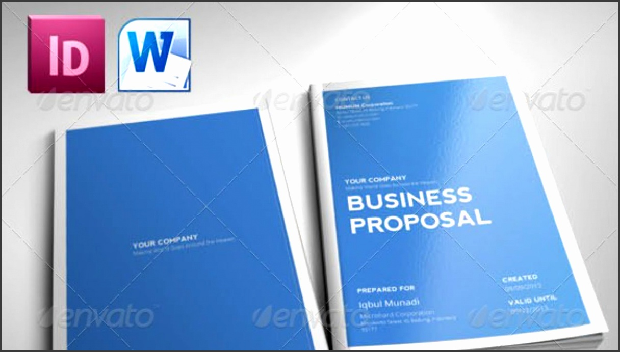 Indesign Indd Free Template Clean Proposal Youtube