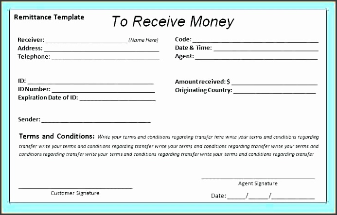 remittance receipt payment receipt template doc lbc remittance receipt