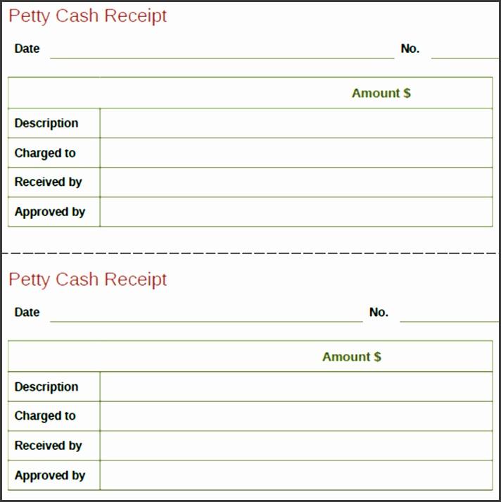 Cash Payment Receipt Template