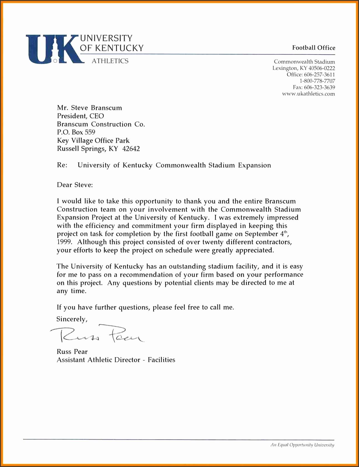 Uk Letter Template