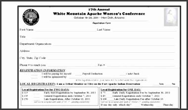 Women s Conference Flyer Registration Form