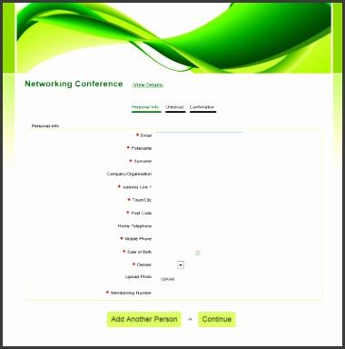 line Registration Form Template Registration Forms Sample Oklmindsproutco Printable