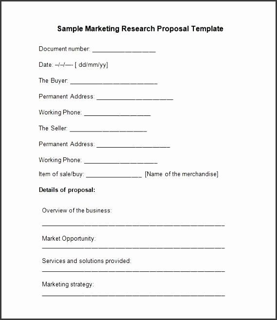 Sample Research Proposal Template 5 Free Documents Download In inside Research Proposal Template 5378