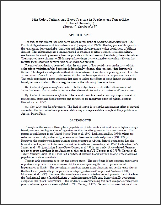 Undergraduate research proposal template